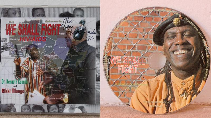 It seemed as if the 2005 album by Kenneth Kaunda, We Shall Fight HIV/AIDS, had vanished. But then ... it was found! Here's what could be the sole surviving copy, now being remastered for re-release this year.