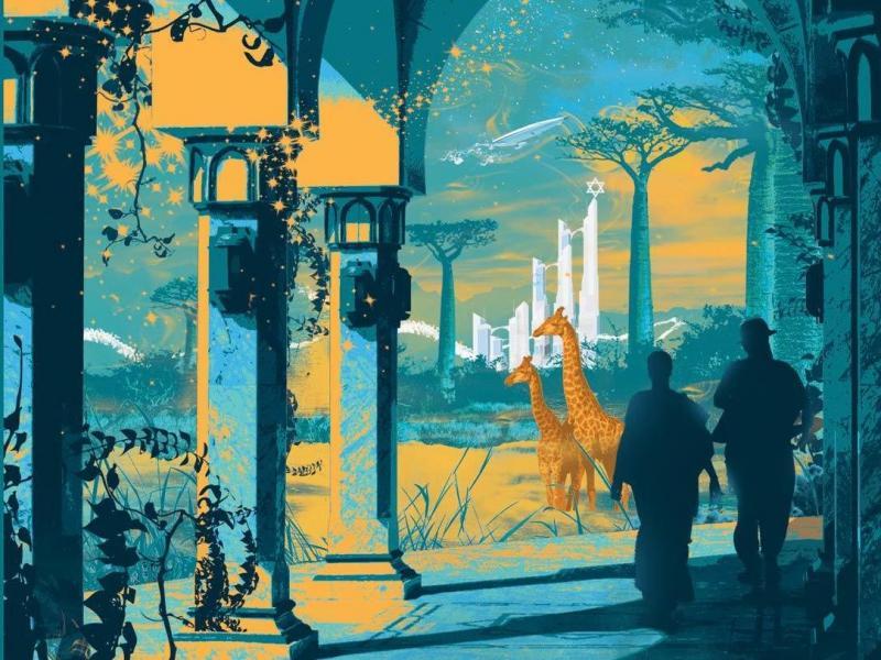 Unholy Land, by Lavie Tidhar