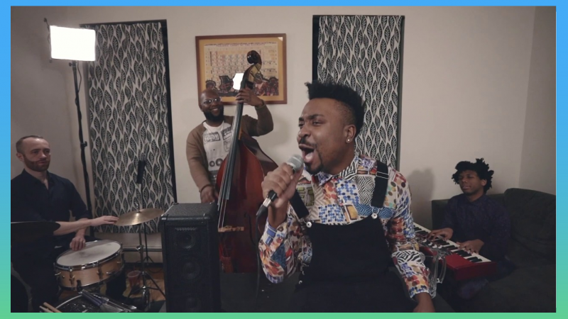 "Charles Turner & Uptown Swing entered the Tiny Desk Contest with the song ""Harlem Harlem Harlem."""