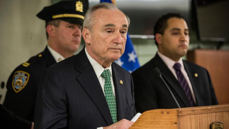 The NYPD recently launched a study into what's causing a rise in shootings in the city. Commissioner William Bratton says it will examine a lot of factors, not just stop-and-frisk.
