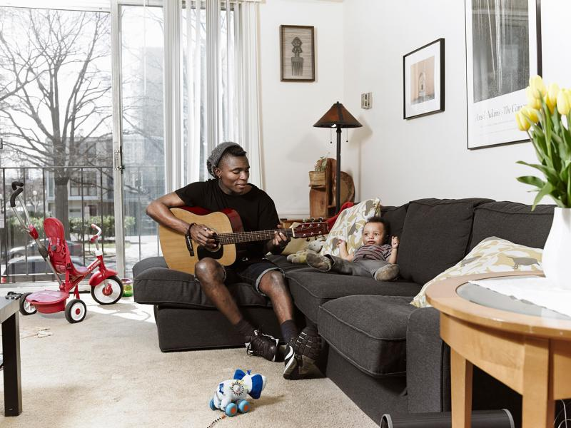 Isma is a musician from Equatorial Guinea and moved with his wife to Washington, D.C., where they had a son named Matteo. It wasn't easy for Isma to move to a new country, learn a new language and be a new dad all at the same time.
