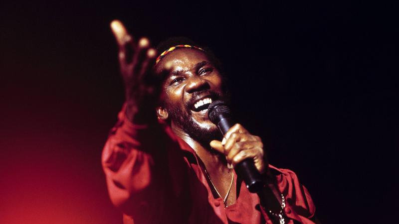 Toots Hibbert, of Toots and the Maytals, performing in London in 1980.