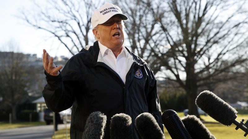 President Trump says if he doesn't get a border wall, he will declare a national emergency to build it.