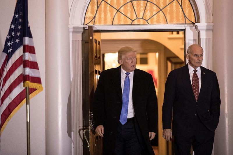 In A Tweet Friday Evening, President Trump Named John Kelly, Secretary Of  Homeland Security