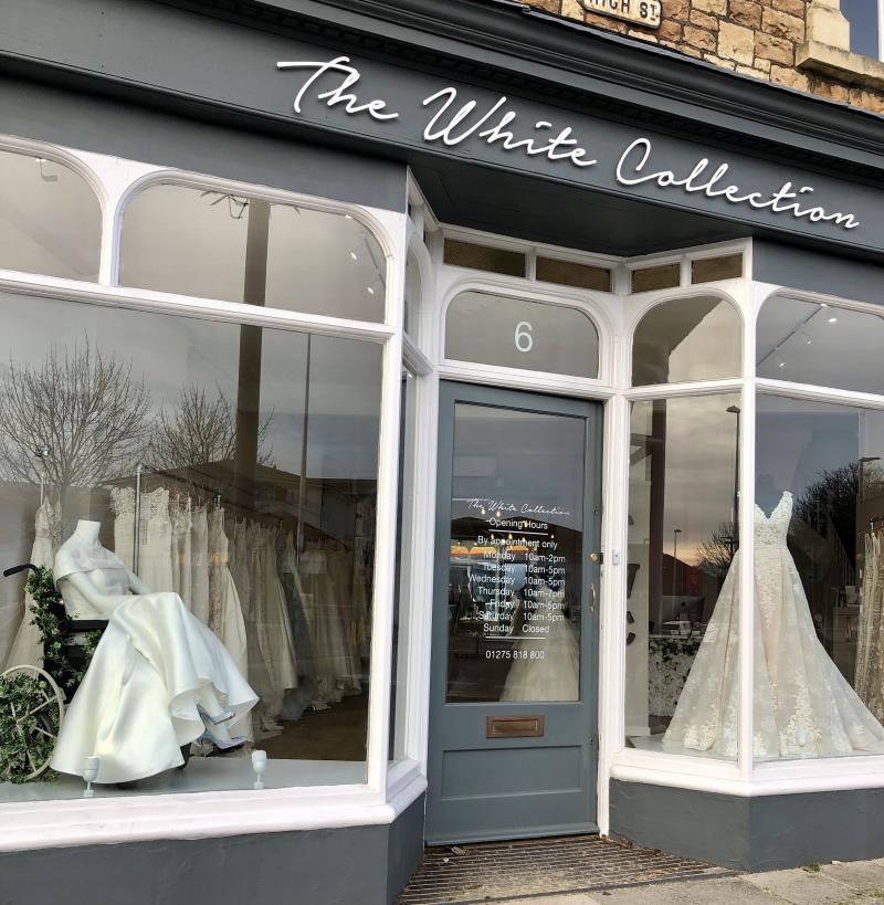 12b54de6c60d3 U.K. Bridal Boutique Celebrates Wedding Dresses And Wheelchairs ...