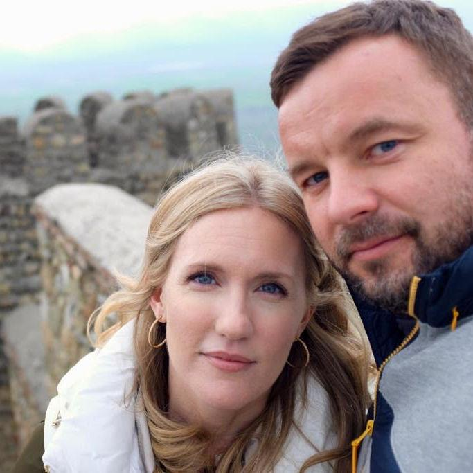 """U.S. diplomat Heather Shkliarov, shown here with husband Vitali Shkliarov, has warned that his health is in """"immediate danger"""" since his jailing by Belarusian authorities."""