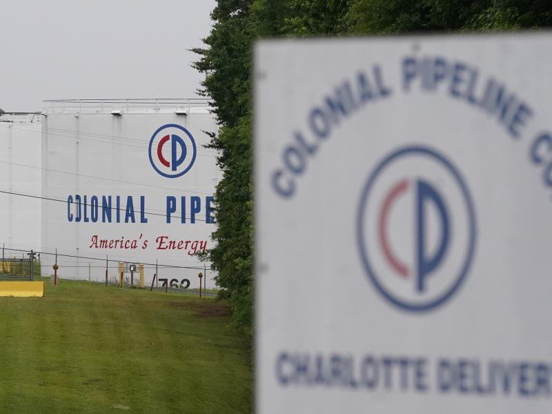 The entrance of Colonial Pipeline Company in Charlotte, N.C.