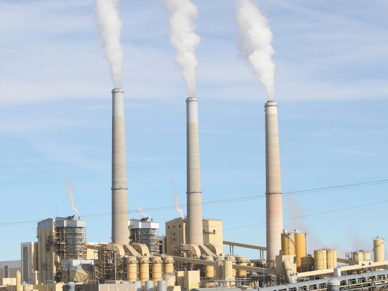 The Hunter power plant in Utah generates electricity by burning coal. Coal combustion releases enormous amounts of carbon into the atmosphere. The Utah plant is scheduled to keep operating until 2042.