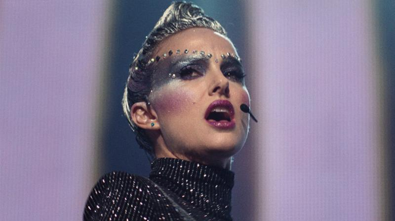 Natalie Portman's performance as pop star Celeste is bold, glittery and fearless in Vox Lux.