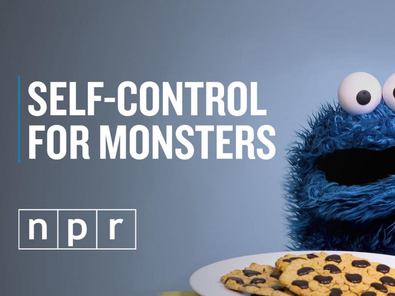 Cookie Monster has several tricks to help keep his monster hands off those sweets.
