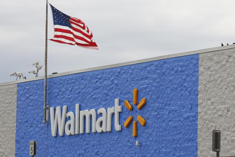 """On Tuesday, the Justice Department filed a civil suit accusing Walmart of failing to stop """"hundreds of thousands"""" of improper opioid transactions at its chain of pharmacies."""