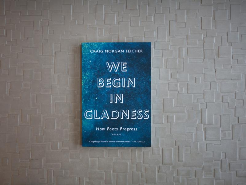 We Begin In Gladness, by Craig Morgan Teicher