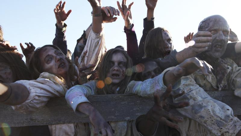 Today's stories about disease — like The Walking Dead with its zombies — tend to be rooted in political and social realities.