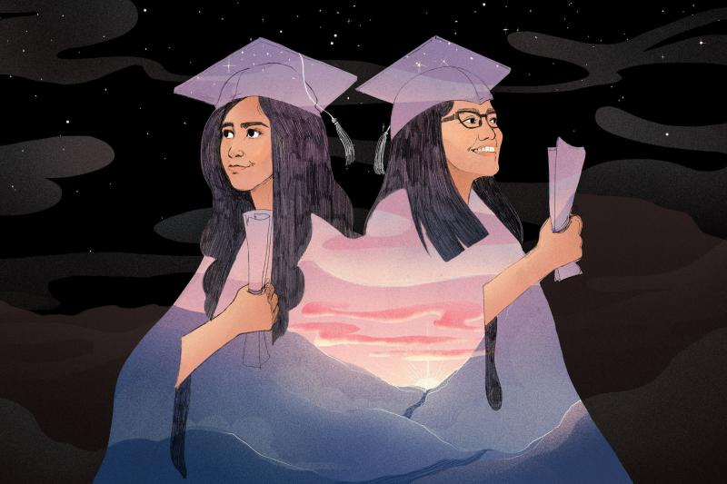 Larissa Martinez and Mayte Lara Ibarra had just finished their senior year of high school when they each decided to go public with their immigration status.