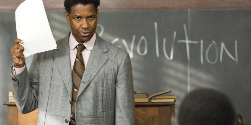 Denzel Washington in The Great Debaters.