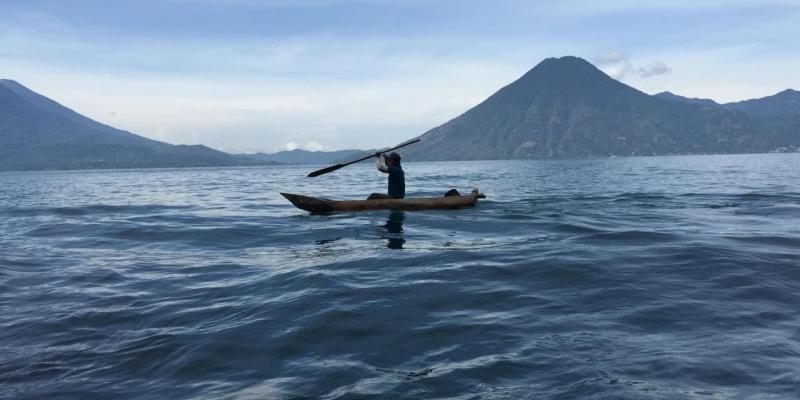 Imagine having to take a 40-minute boat ride just to get on the road to a clinic. That's the situation for some families in rural Guatemala (above).