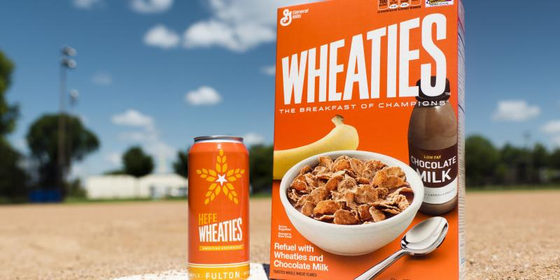 HefeWheaties is a new beer from Fulton, which collaborated on the brew with another Minneapolis company, General Mills.