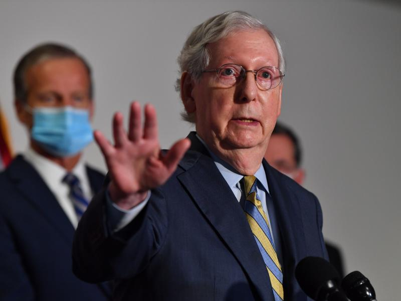 Senate Majority Leader Mitch McConnell has said there will be an orderly transition of power.