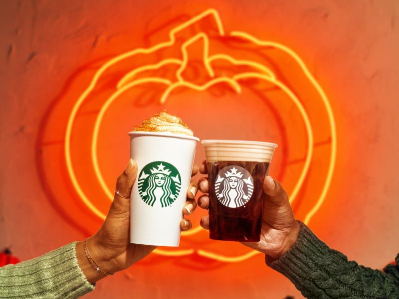 Starbucks beat its own record this year, rolling out the pumpkin spice latte a full 24 hours earlier than it did last year. Still, it lags behind the Aug. 18 Dunkin's rollout of a similar beverage.