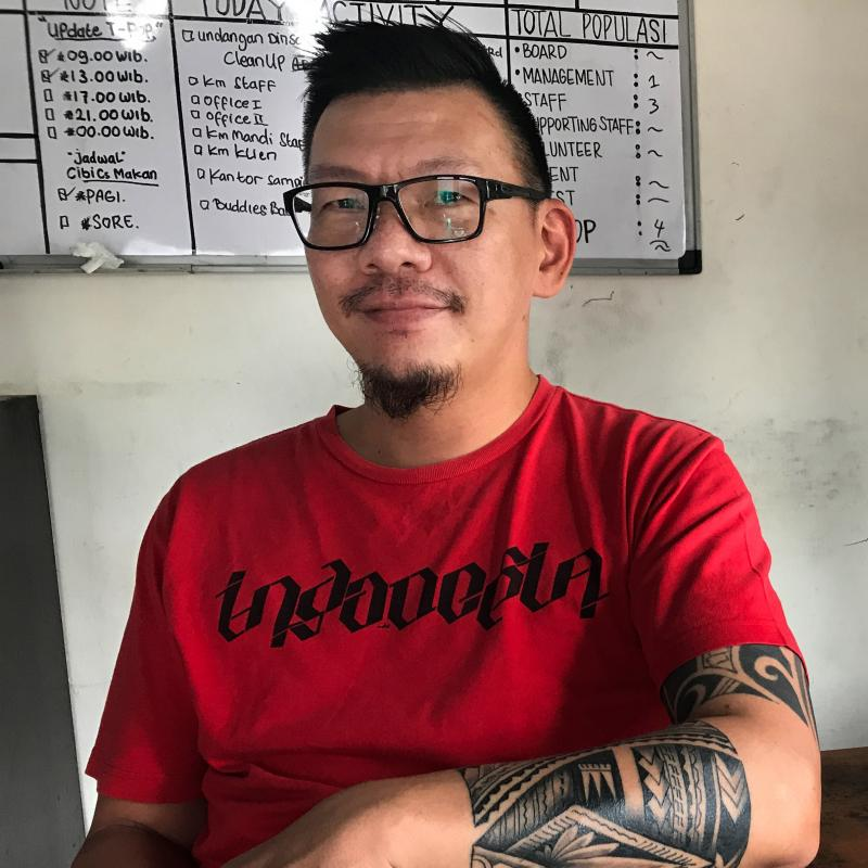 Sam Nugraha, who himself was once addicted to heroin, now runs a rehab center in Indonesia with a different philosophy from those of abstinence-based programs.