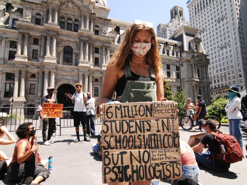 Recent protests in Philadelphia and across the country have drawn young people. But for most of the pandemic, youth have been quarantined and away from their social circles, which could make depression and other mental illness worse.