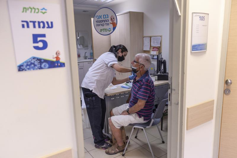 The director of WHO now says that a booster moratorium should be in force until 10% of the population in all countries is vaccinated. Israel had previously announced plans to give a third Pfizer dose to residents age 60 and up after an uptick in COVID cas