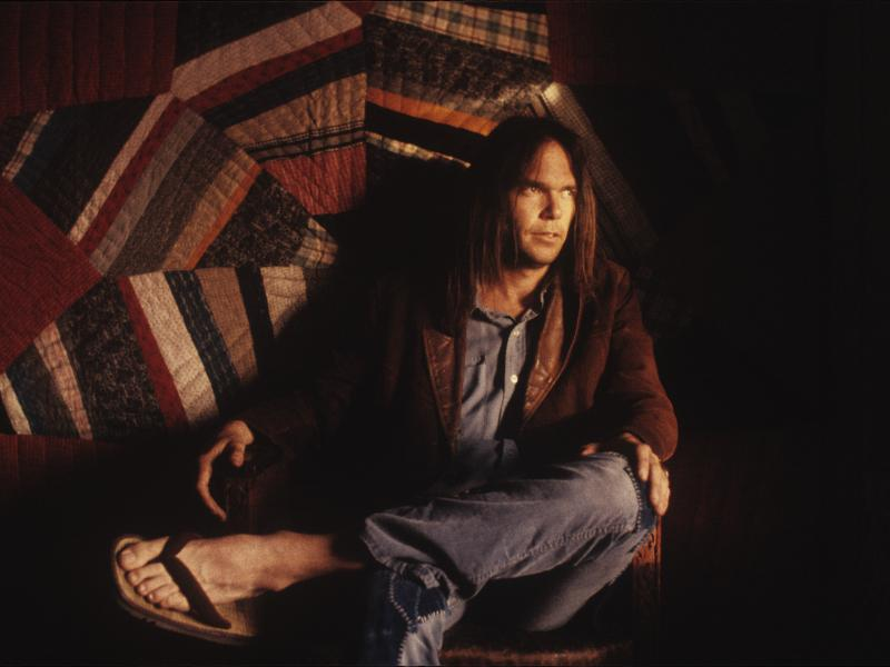 Neil Young's newly released album, Homegrown, arrives at the same moment as two other veteran songwriters, Bob Dylan and Willie Nelson, put out projects of their own.