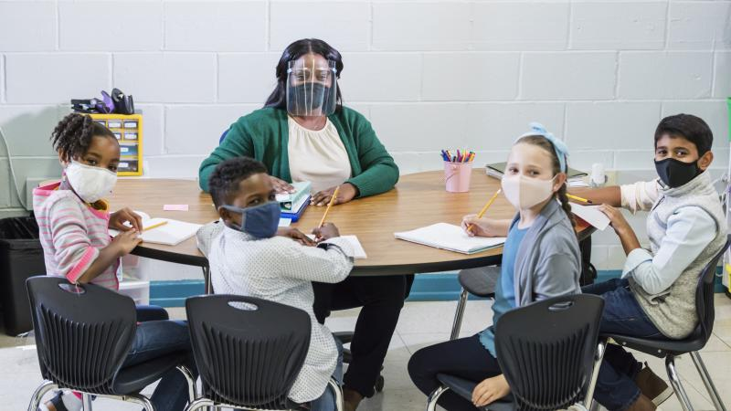 When children and teachers wear masks in class, studies show it limits the spread of the coronavirus.