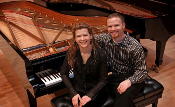 """CanAm Piano Duo: """"This is the World"""" Revisited"""