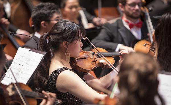 UNC School of the Arts: Eddy Marcano Conducts the UNCSA String Orchestra