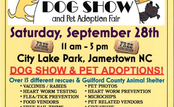 2019 Triad Shelter & Rescue Dog Show & Adoption Fair