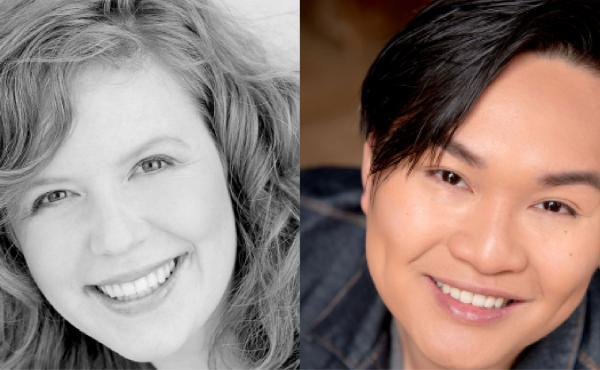Headshots of Jodi Burns Thao Nguyen