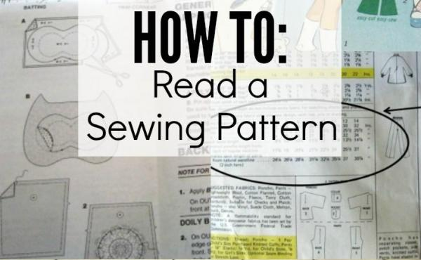 How to Read Sewing Patterns