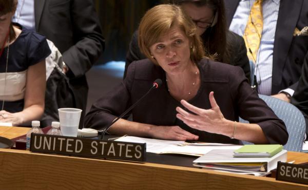 U.S. Ambassador Samantha Power.