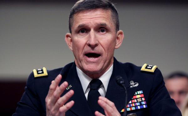 Lt. Gen. Michael Flynn, the director of the Defense Intelligence Agency, testifies before the Senate Armed Services Committee last month.
