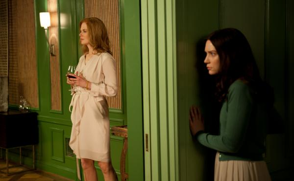 Nicole Kidman (left) and Mia Wasikowska star as Evelyn and India Stoker in Park Chan-wook's new thriller.