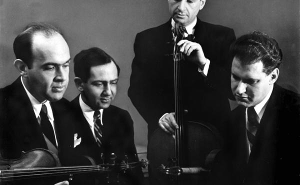A new collection of Brahms and Mozart recordings by the Stuyvesant Quartet from 1947 conveys a kind of inward grace.