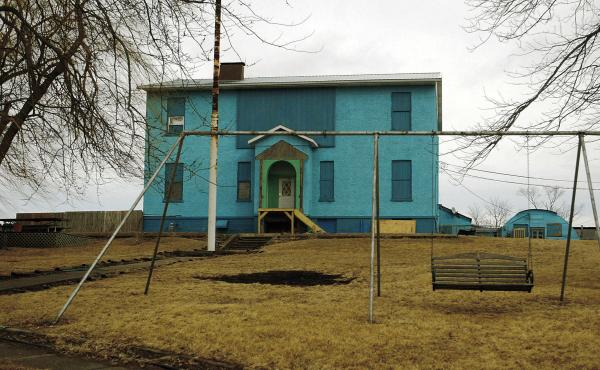 For decades, Hill County Farms, also known as Henry's Turkey Service, housed a group of mentally disabled men in squalor in this former schoolhouse in Atalissa, Iowa. The EEOC won a judgment against the company for exploiting the men.