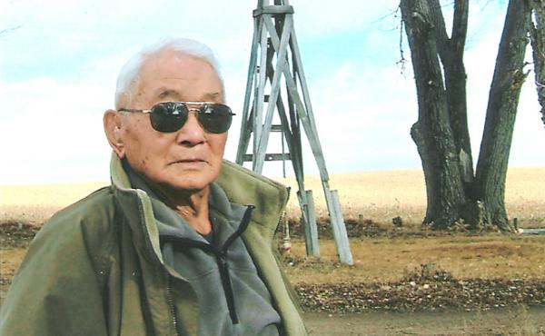 After serving in World War II, Tad Nagaki returned to Nebraska to farm corn, beans and sugar beets.