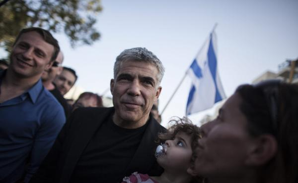 Yair Lapid and his new political party, There Is a Future, got the second-most votes in Israel's election on Tuesday.
