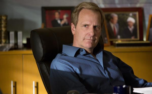 Jeff Daniels returns to Aaron Sorkin's HBO series The Newsroom as cable news anchor Will McAvoy.