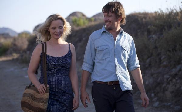 Before Midnight is the third film in Richard Linklater's series that explores the romance and life of a couple, Jesse (Ethan Hawke) and Celine (Julie Delpy). The two previous films were Before Sunrise and Before Sunset.