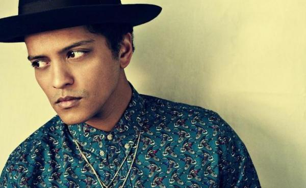 Bruno Mars draws inspiration from across the pop landscape on his second album, Unorthodox Jukebox.