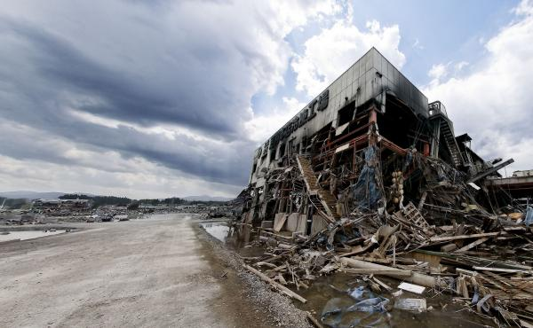 Kesennuma, in the Tohoku region of Japan, was devastated in a March 11, 2011, earthquake and tsunami. A researcher studying recent mega-quakes says this one, centered some 300 miles from Tokyo, could actually mean an increased risk of a quake hitting Japa