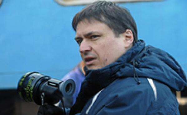 Director Cristian Mungiu on the set of his new film, Beyond the Hills. As in his earlier 4 Months, 3 Weeks and 2 Days, the filmmaker focuses on two young women adrift in the post-Soviet wilderness of Romania.