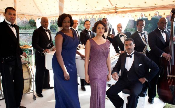 Set in London in the early 1930s, Dancing on the Edge is a five-part miniseries about a black jazz band trying to crack the dance halls and radio playlists. Made for BBC-2, the episodes will air starting Saturday night on the Starz cable network.
