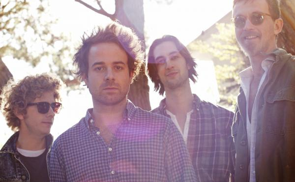 Dawes, from left to right: Griffin Goldsmith, Taylor Goldsmith, Wylie Gelber and Tay Strathairn.