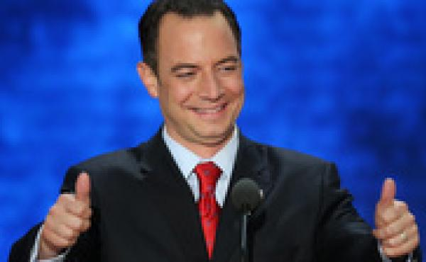 RNC Chairman Reince Priebus, shown at the Republican National Convention in August, has been re-elected to another two-year term.
