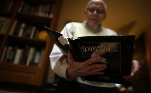 Spielberg's Schindler's List will mark its 20th year in 2013. Levy was in charge of the publicity campaign for the film and still has his original press kit.
