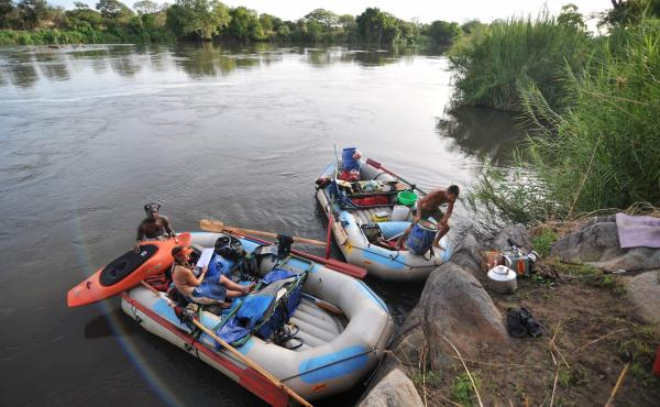 Most people associate the Nile with Egypt, but the river also flows through South Sudan, where much of it is bordered by jungle. That makes it a excellent destination for rafting and wildlife enthusiasts, says travel guide author Max Lovell-Hoare.